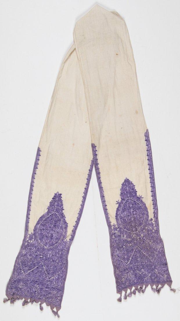 Antique Moroccan Silk Embroidery