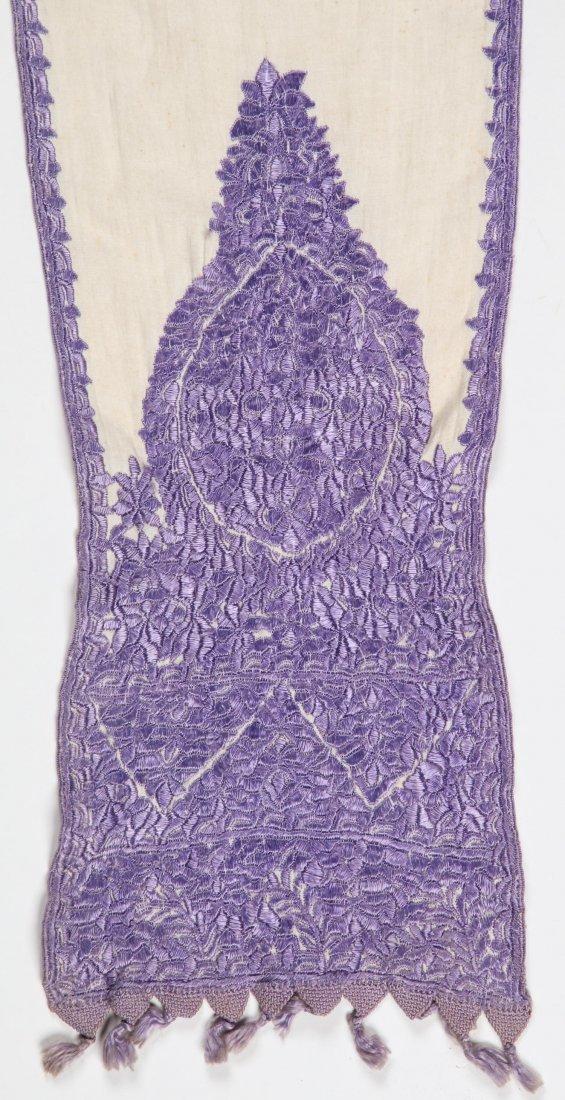 Antique Moroccan Silk Embroidery - 2