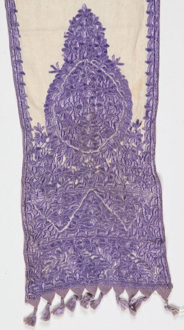 Antique Moroccan Silk Embroidery - 3