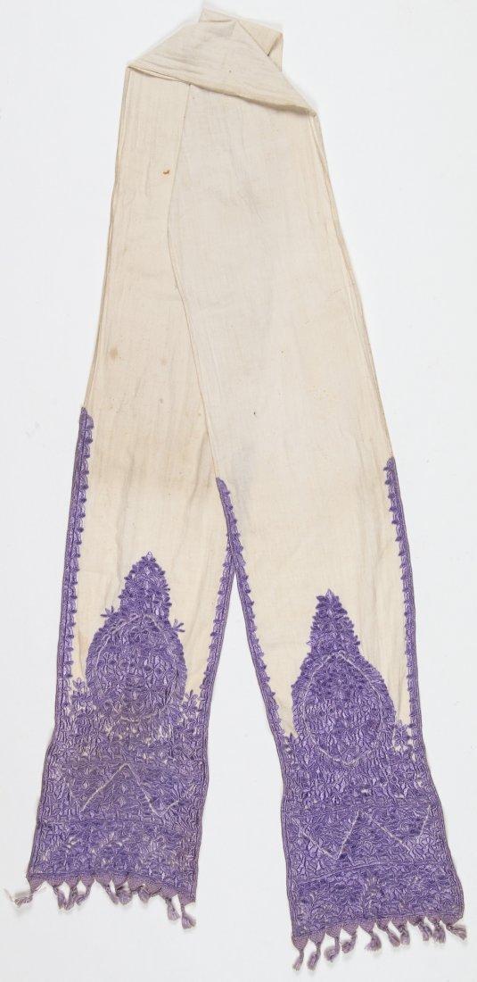Antique Moroccan Silk Embroidery - 4