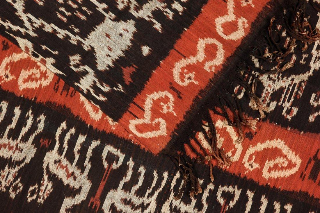 """Old Sumba ikat Hinggi Textile: 48"""" x 92"""" - 4"""
