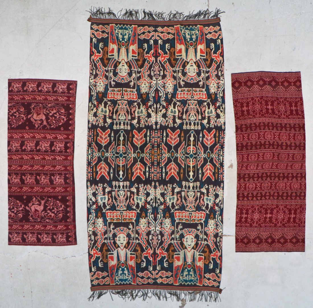 3 Indonesian Textiles, Early 20th C