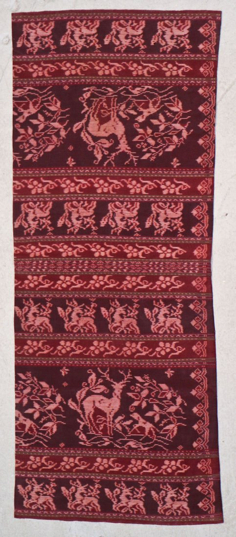 3 Indonesian Textiles, Early 20th C - 2