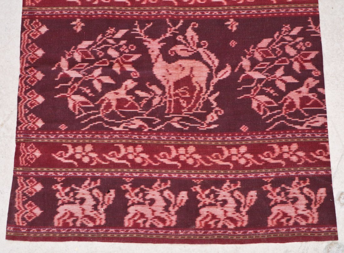 3 Indonesian Textiles, Early 20th C - 3