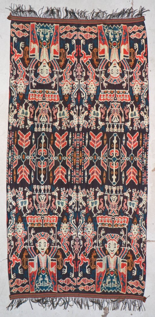 3 Indonesian Textiles, Early 20th C - 5