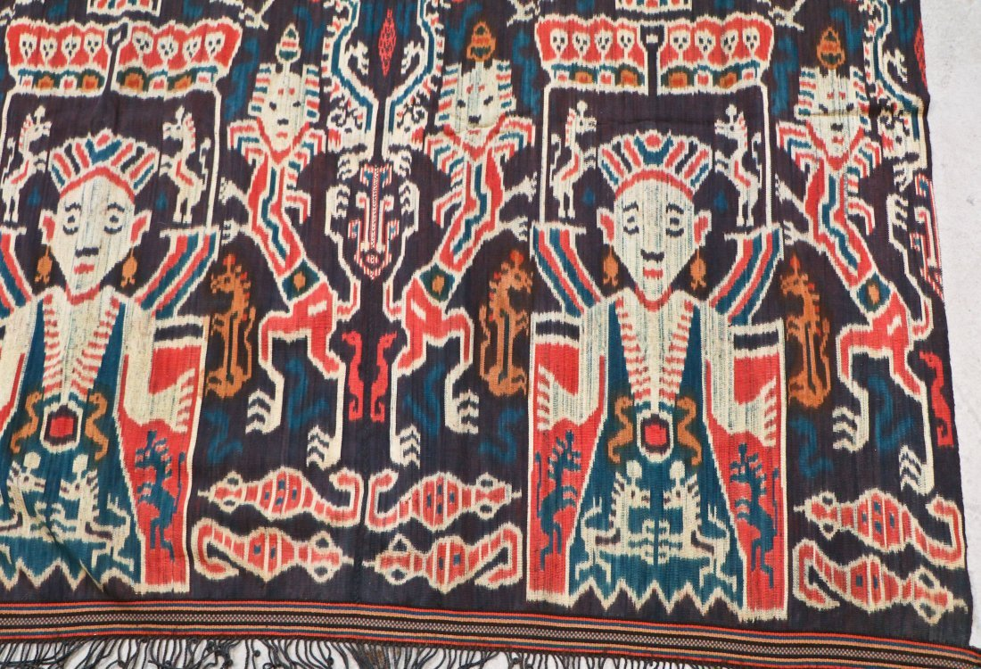 3 Indonesian Textiles, Early 20th C - 6