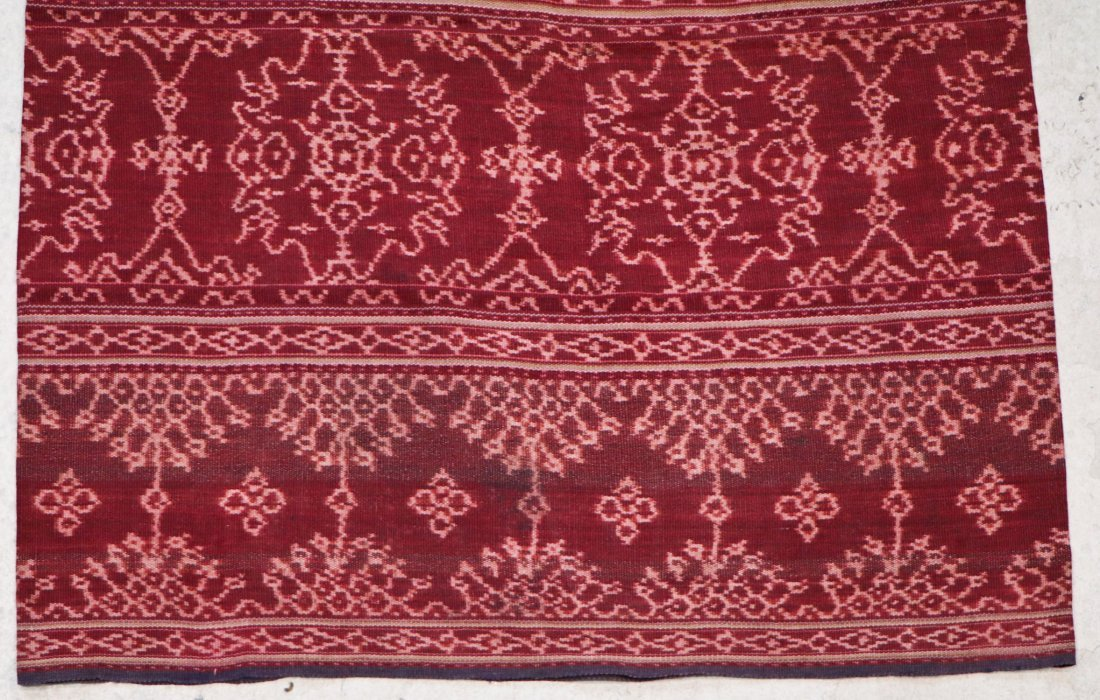 3 Indonesian Textiles, Early 20th C - 9