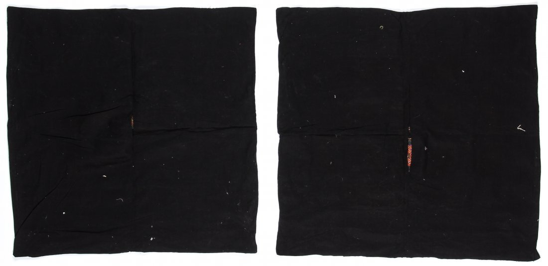 2 Embroidered S. China Minority Textiles - 4