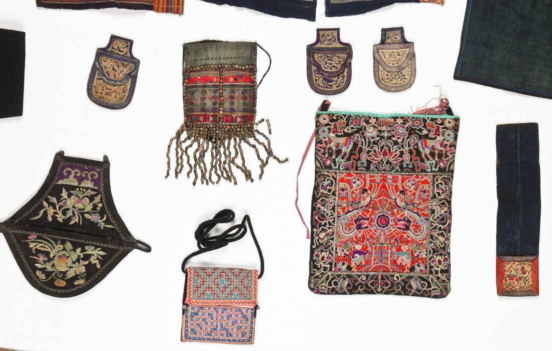 Group of 15 Chinese Minority Textiles - 5