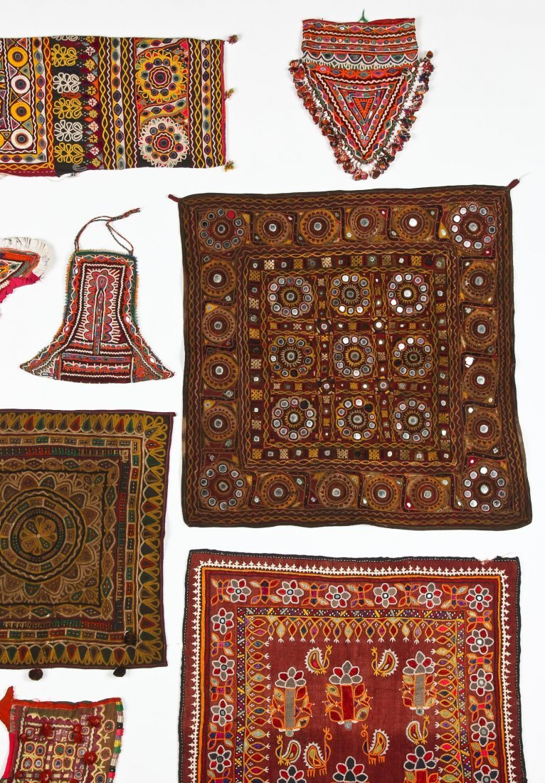 Group of 13 Indian Textiles - 3