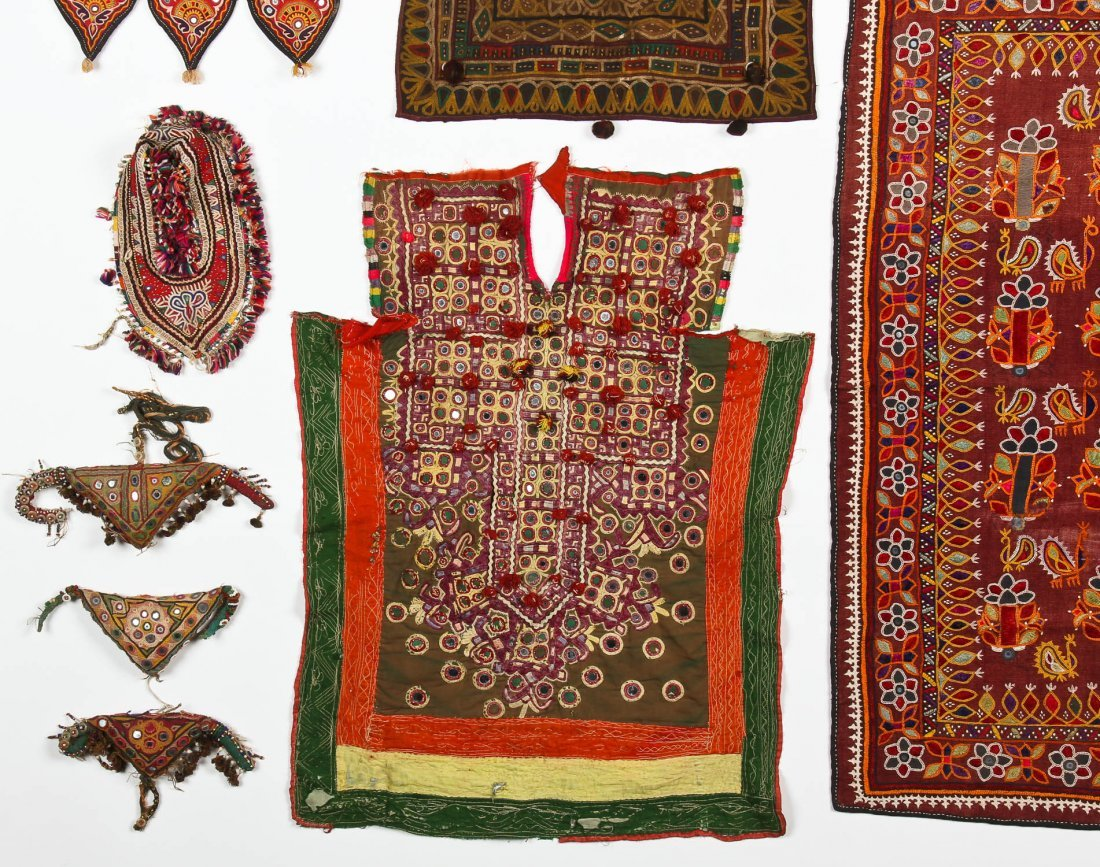 Group of 13 Indian Textiles - 4