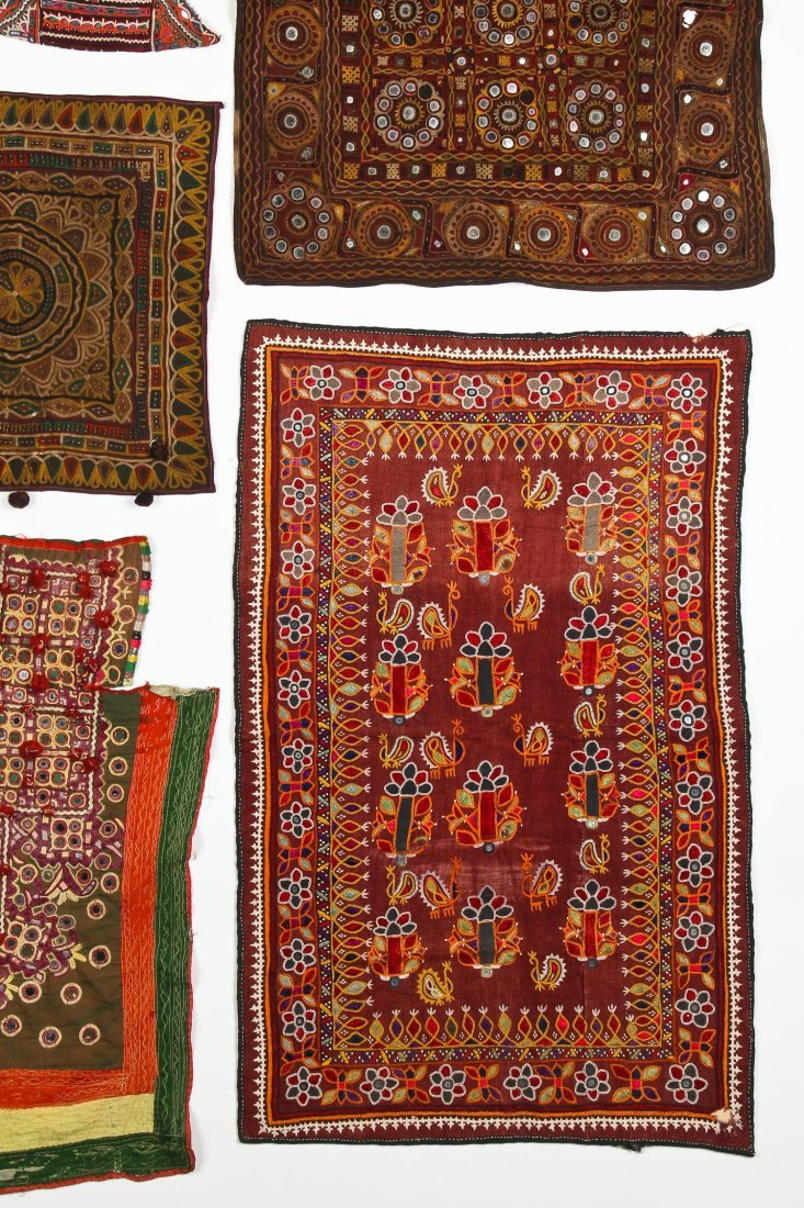 Group of 13 Indian Textiles - 5
