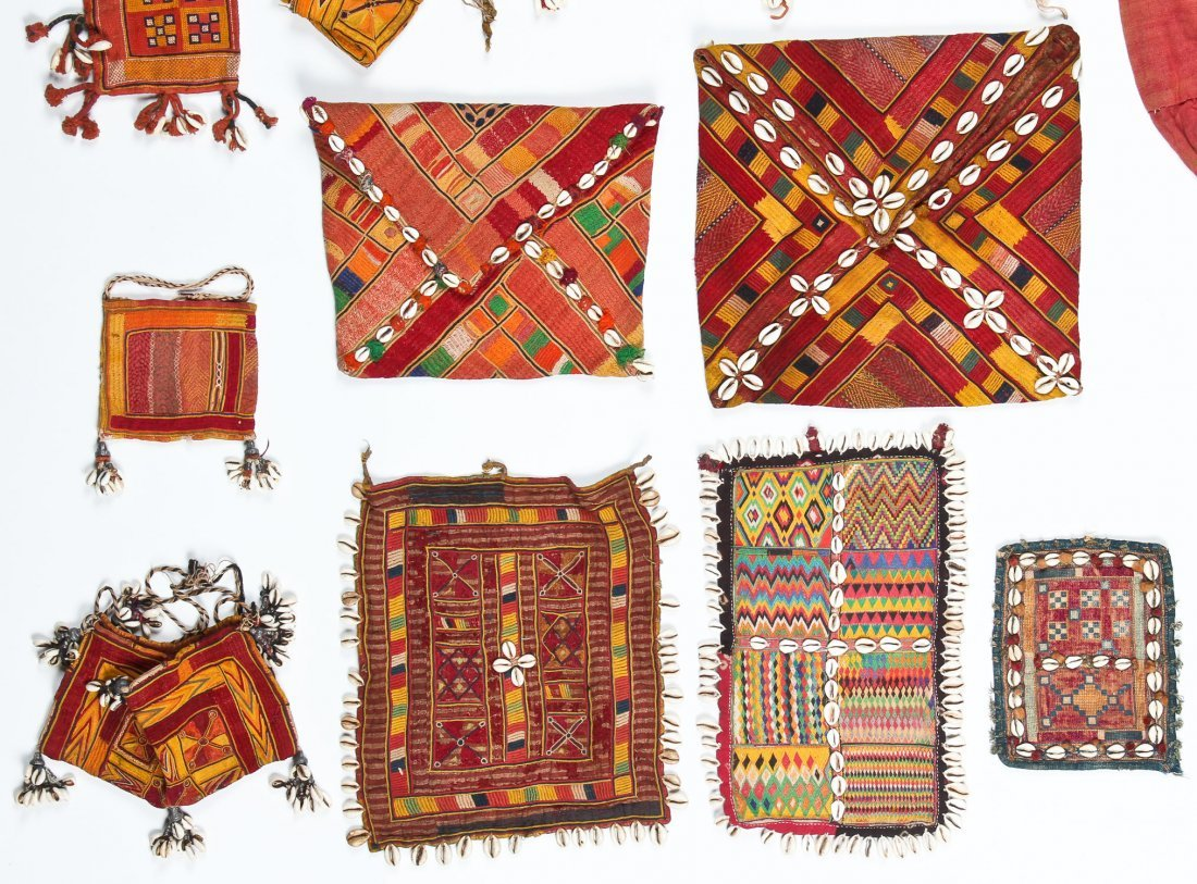 20 Indian Tribal Textiles, Early 20th C - 3