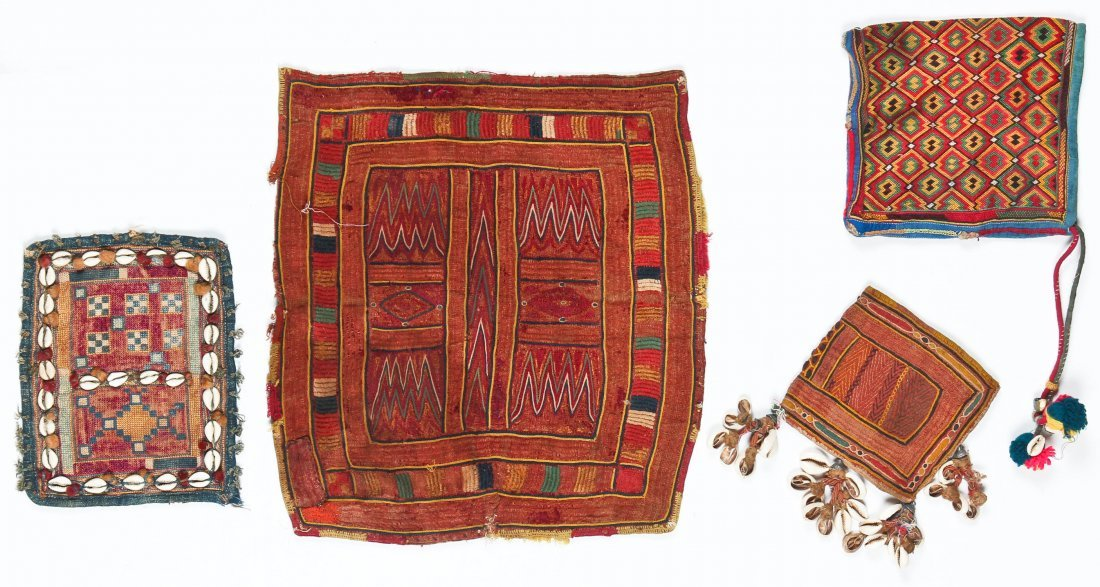 20 Indian Tribal Textiles, Early 20th C - 4