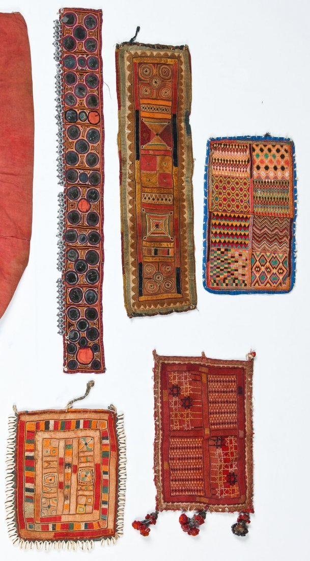 20 Indian Tribal Textiles, Early 20th C - 5