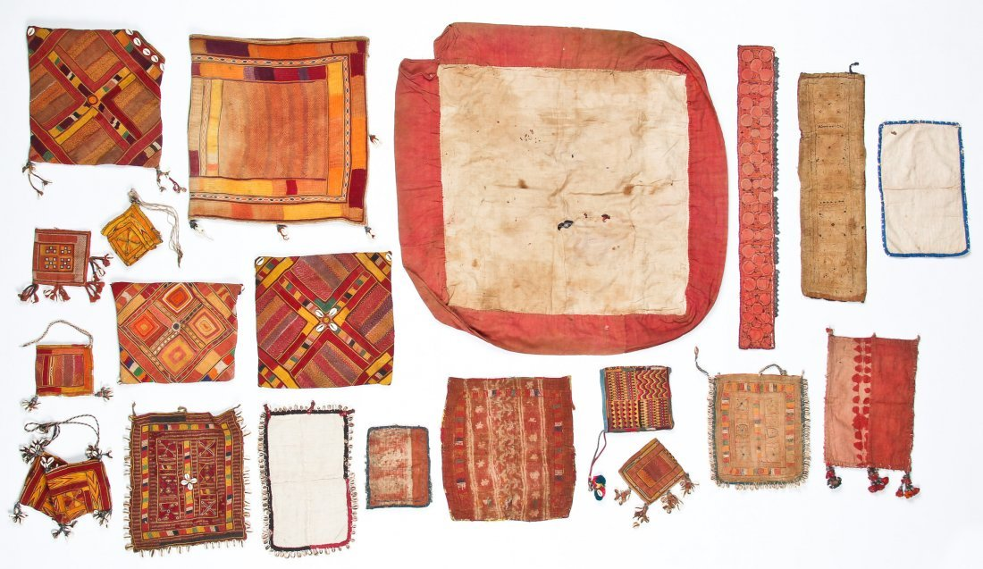 20 Indian Tribal Textiles, Early 20th C - 7