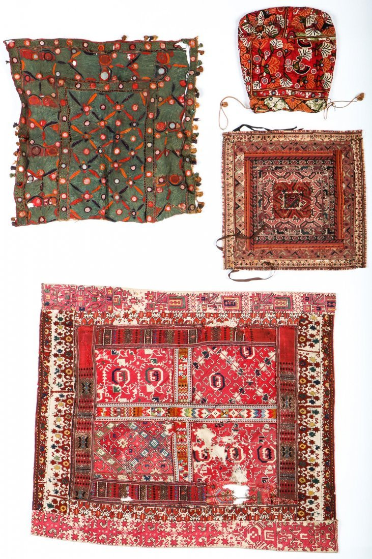Mixed Lot of Ethnographic Embroideries