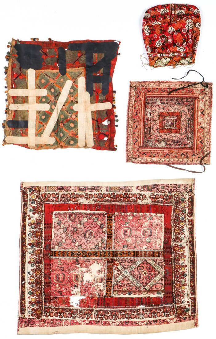 Mixed Lot of Ethnographic Embroideries - 2
