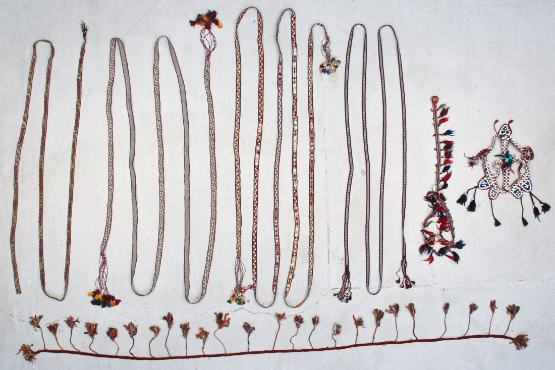 7 Central Asian/Kurdish Tent Bands and Trappings