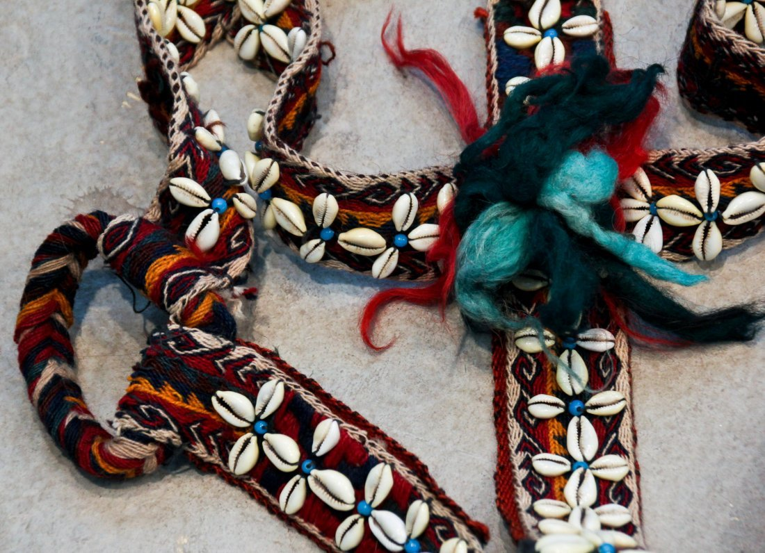 7 Central Asian/Kurdish Tent Bands and Trappings - 3