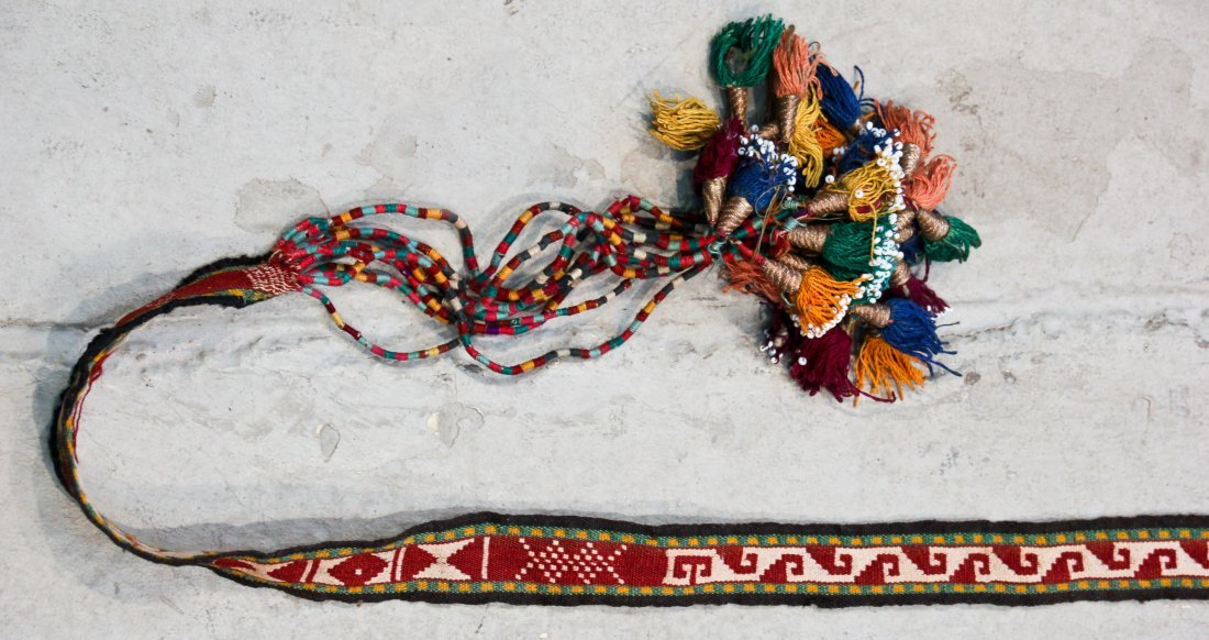 7 Central Asian/Kurdish Tent Bands and Trappings - 4
