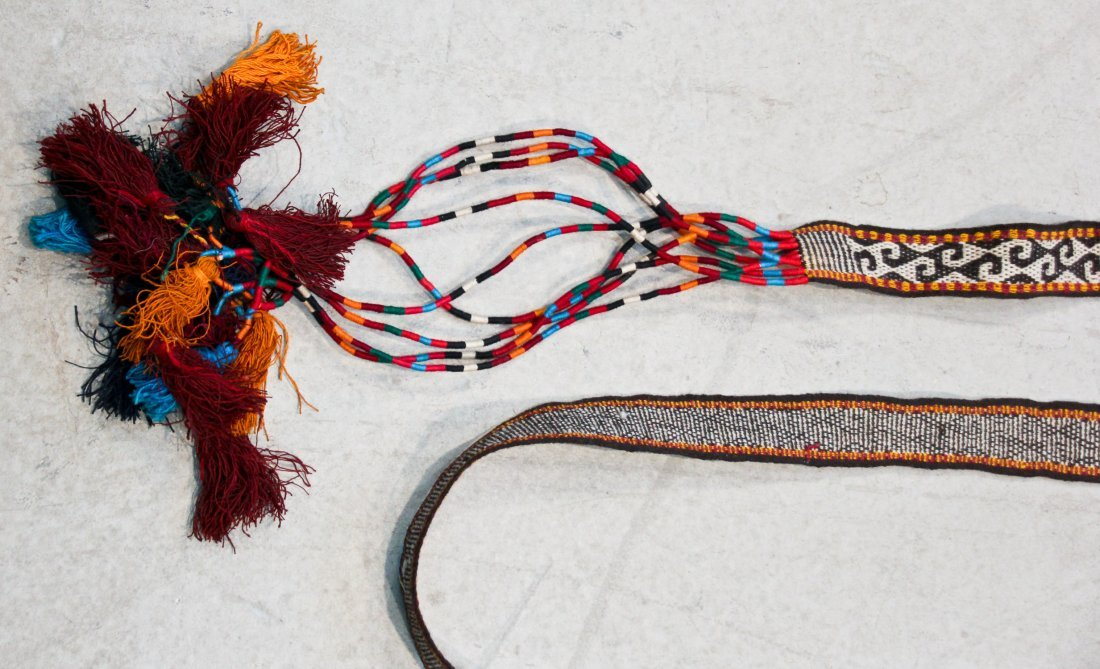 7 Central Asian/Kurdish Tent Bands and Trappings - 5