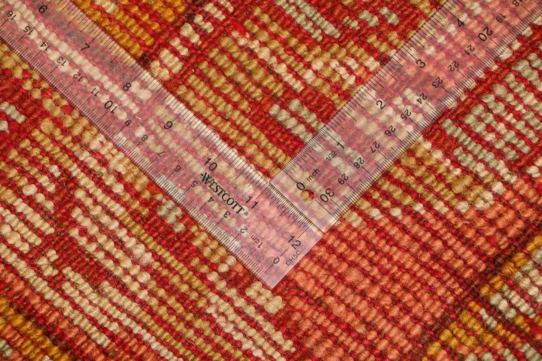 Antique Oushak Rug: 9'7'' x 12'1'' (292 x 368 cm) - 5