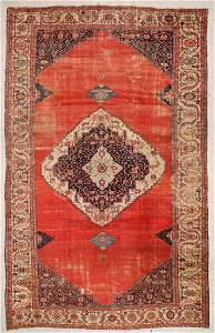 Antique Bakshaish Rug: 11'5'' x 17'10'' (348 x 544 cm)