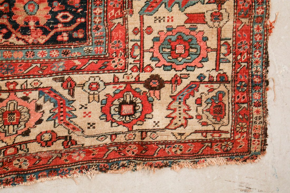 Antique Bakshaish Rug: 11'5'' x 17'10'' (348 x 544 cm) - 2