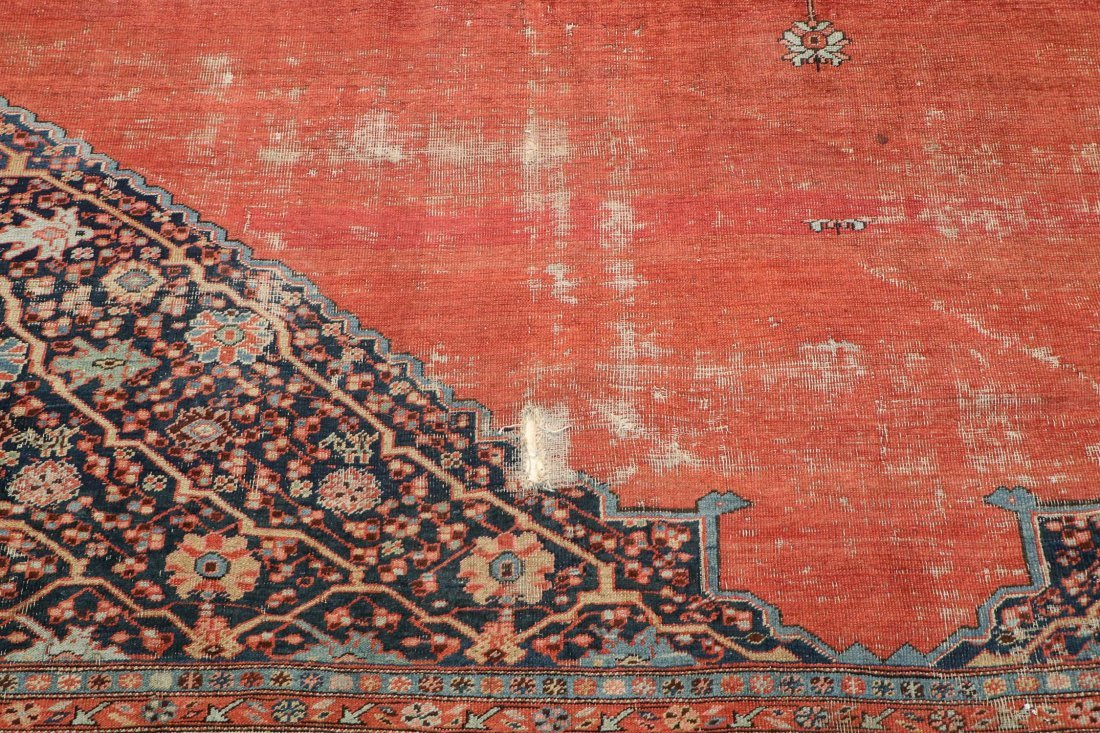 Antique Bakshaish Rug: 11'5'' x 17'10'' (348 x 544 cm) - 6