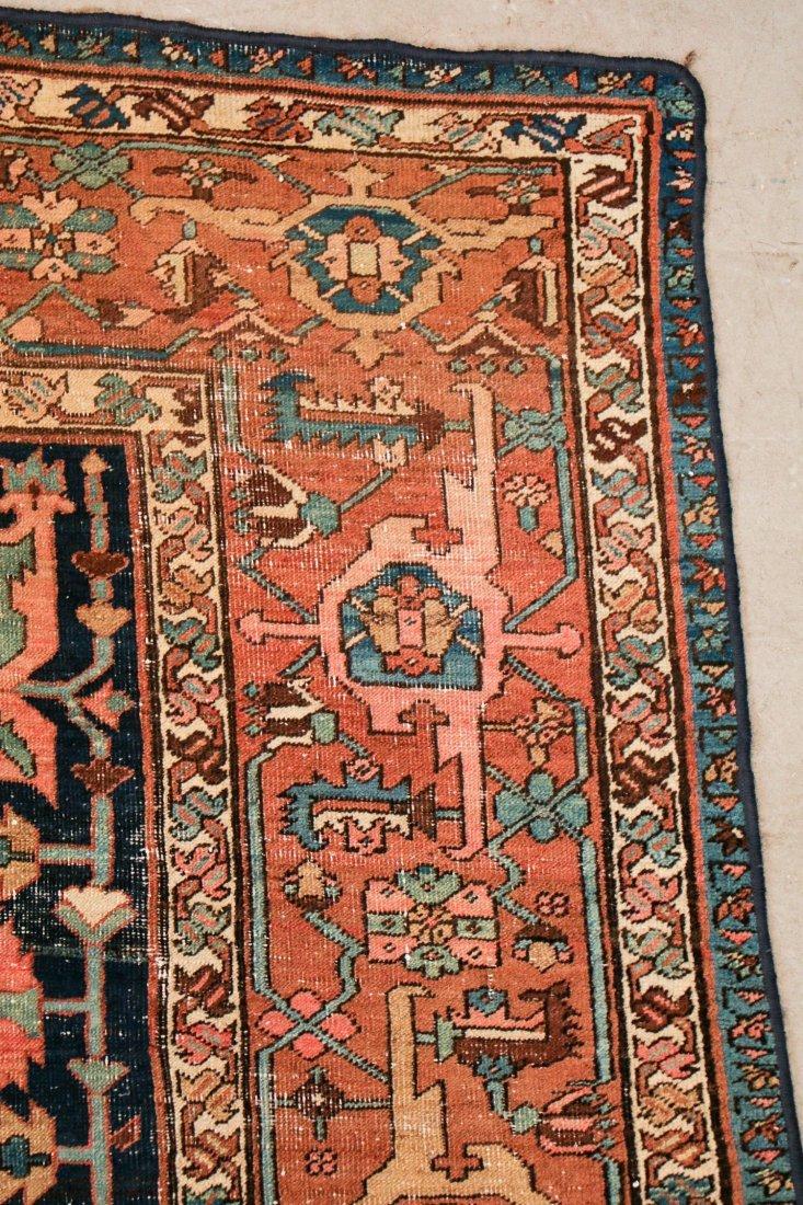 Antique Heriz Rug: 8'3'' x 11'11'' (251 x 363 cm) - 2