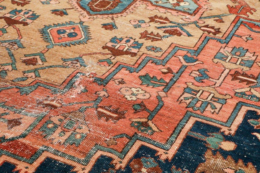 Antique Heriz Rug: 8'3'' x 11'11'' (251 x 363 cm) - 3