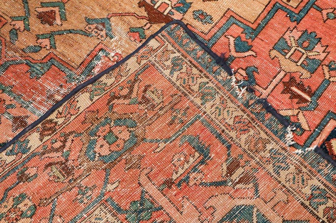 Antique Heriz Rug: 8'3'' x 11'11'' (251 x 363 cm) - 4