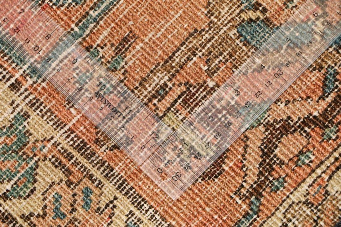 Antique Heriz Rug: 8'3'' x 11'11'' (251 x 363 cm) - 5