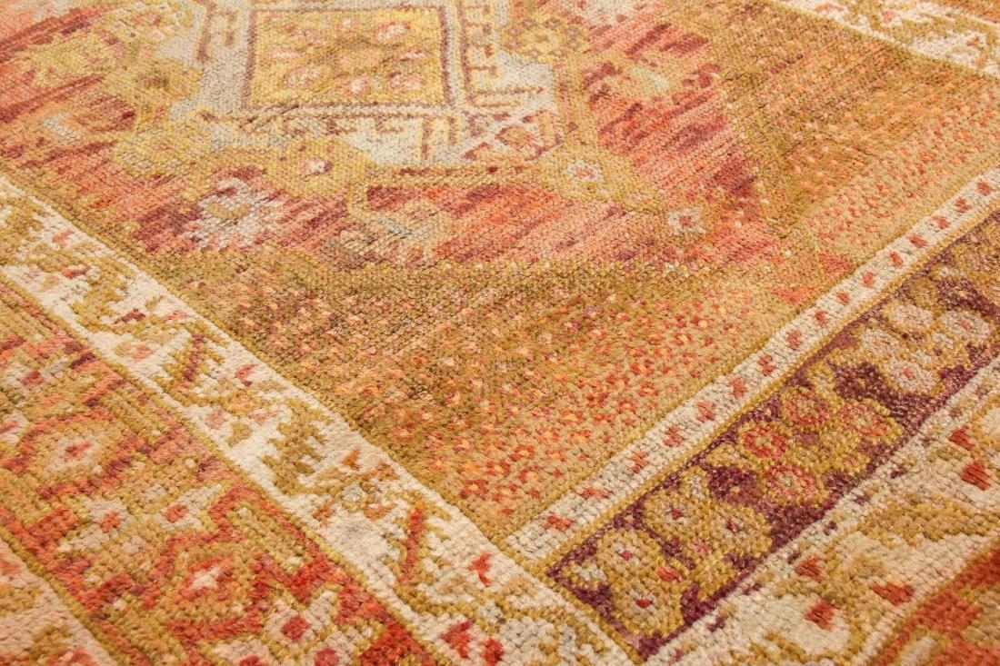 """Antique Oushak Village Rug: 3'3"""" x 4'6"""" (99 x 137 cm) - 3"""