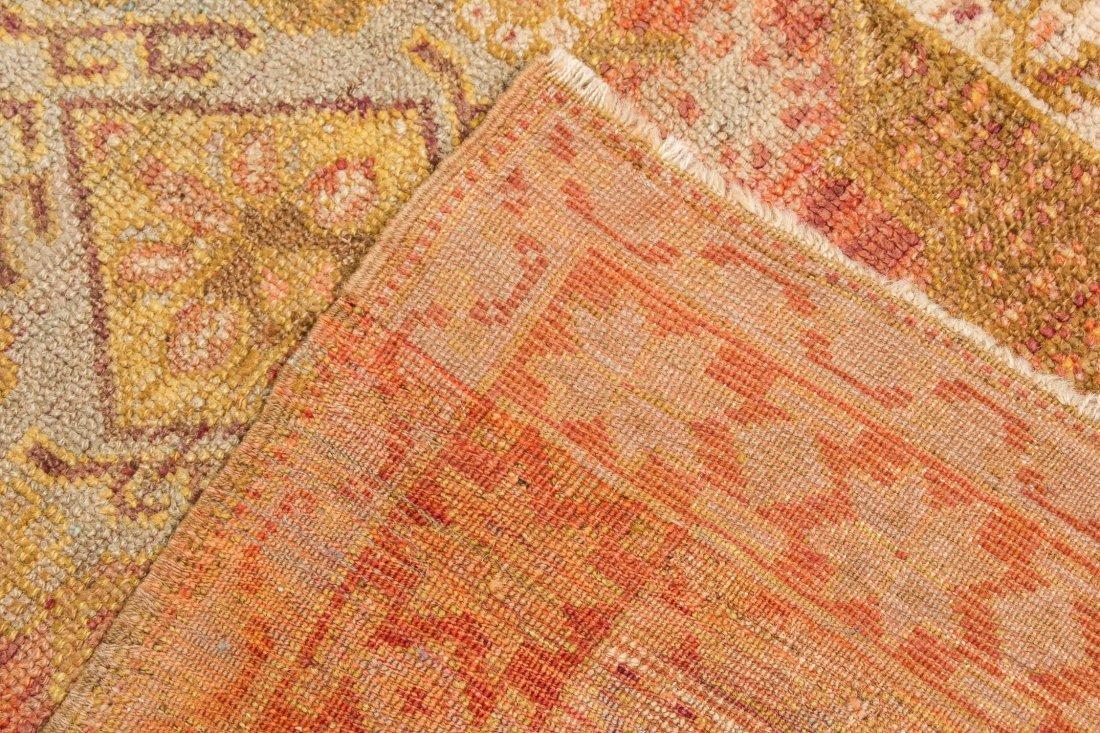 """Antique Oushak Village Rug: 3'3"""" x 4'6"""" (99 x 137 cm) - 4"""