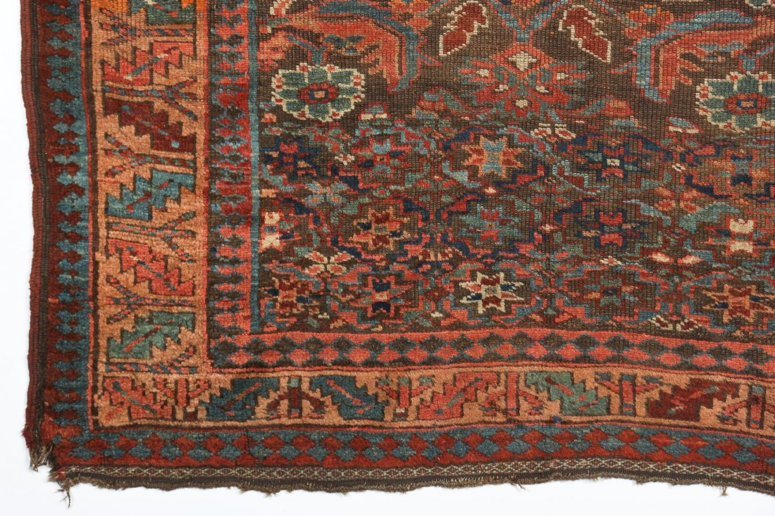 "Antique Northwest Persian Kurd Rug: 3'10"" x 8'4"" - 2"