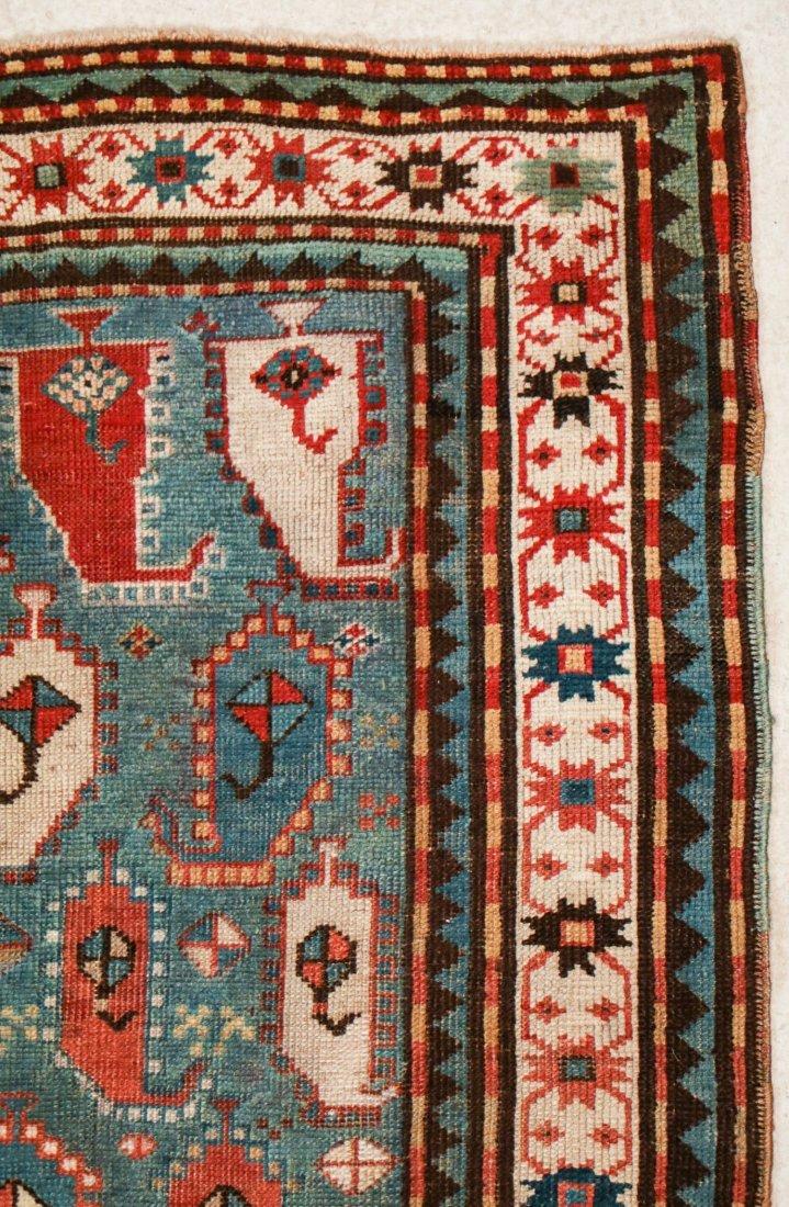 """Antique Kazak Rug: 3'5"""" x 6'11"""" (104 x 211 cm) - 2"""