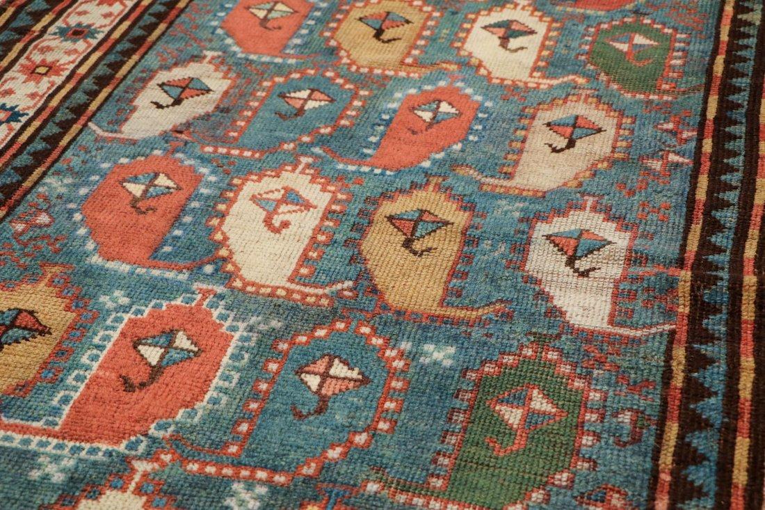 """Antique Kazak Rug: 3'5"""" x 6'11"""" (104 x 211 cm) - 3"""