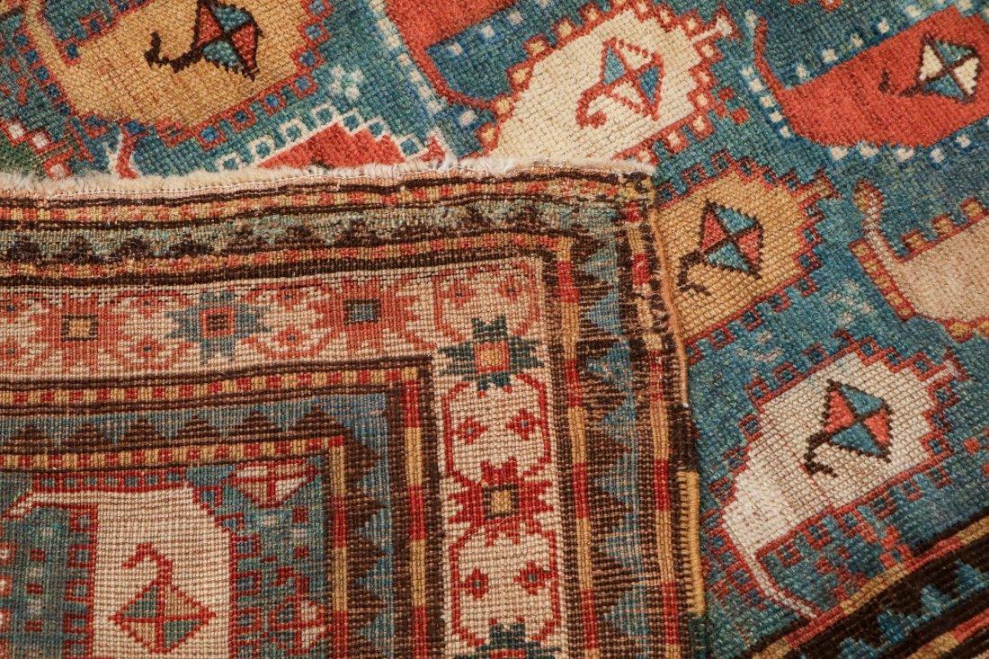 """Antique Kazak Rug: 3'5"""" x 6'11"""" (104 x 211 cm) - 4"""