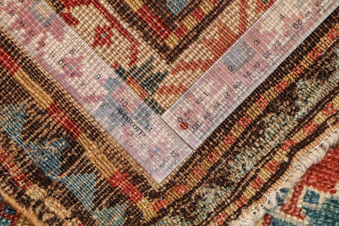 """Antique Kazak Rug: 3'5"""" x 6'11"""" (104 x 211 cm) - 5"""