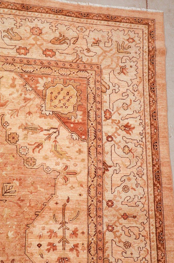 Vintage Afghan Rug: 12'0'' x 15'6'' (366 x 472 cm) - 2