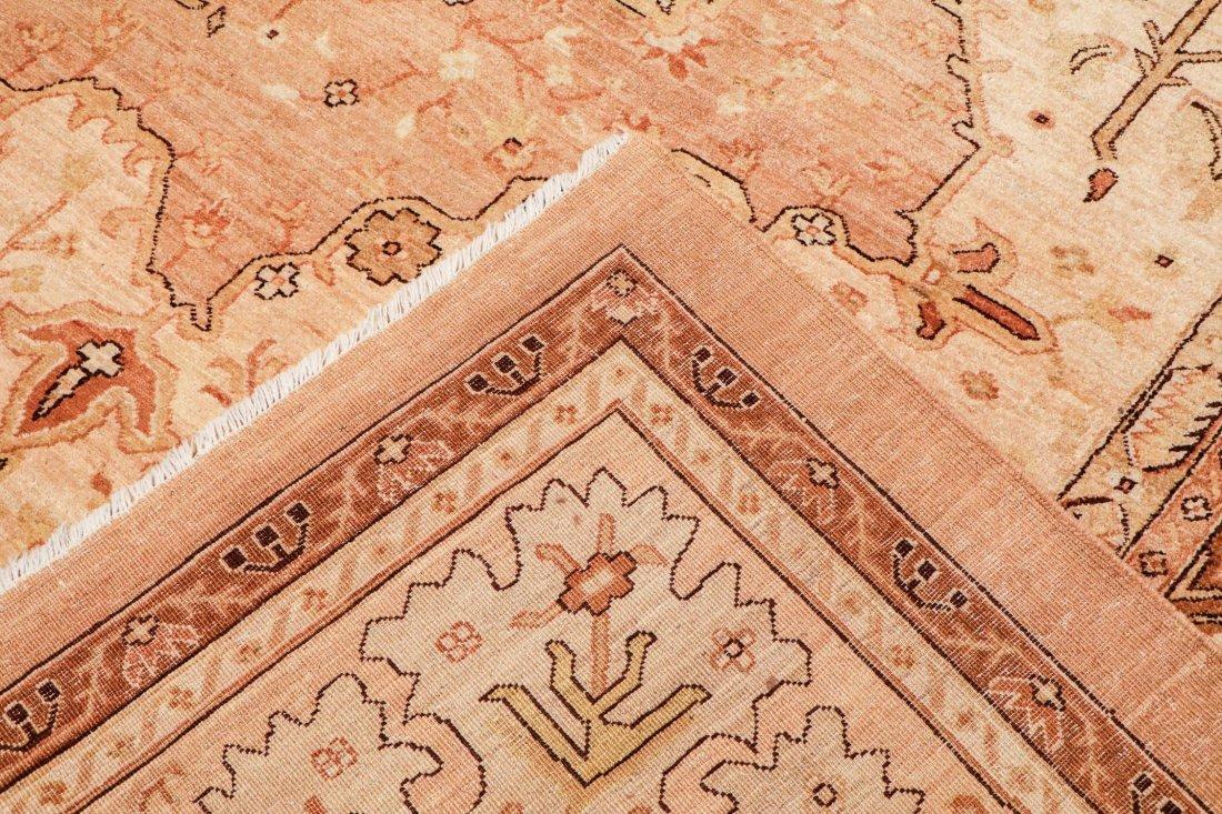 Vintage Afghan Rug: 12'0'' x 15'6'' (366 x 472 cm) - 4