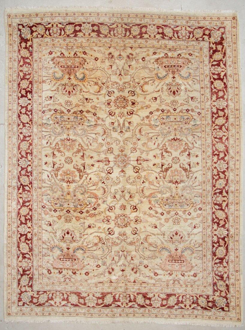 Vintage Afghan Chobi Rug: 9'4'' x 12'3'