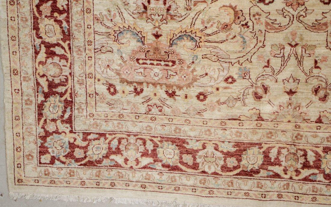 Vintage Afghan Chobi Rug: 9'4'' x 12'3' - 3