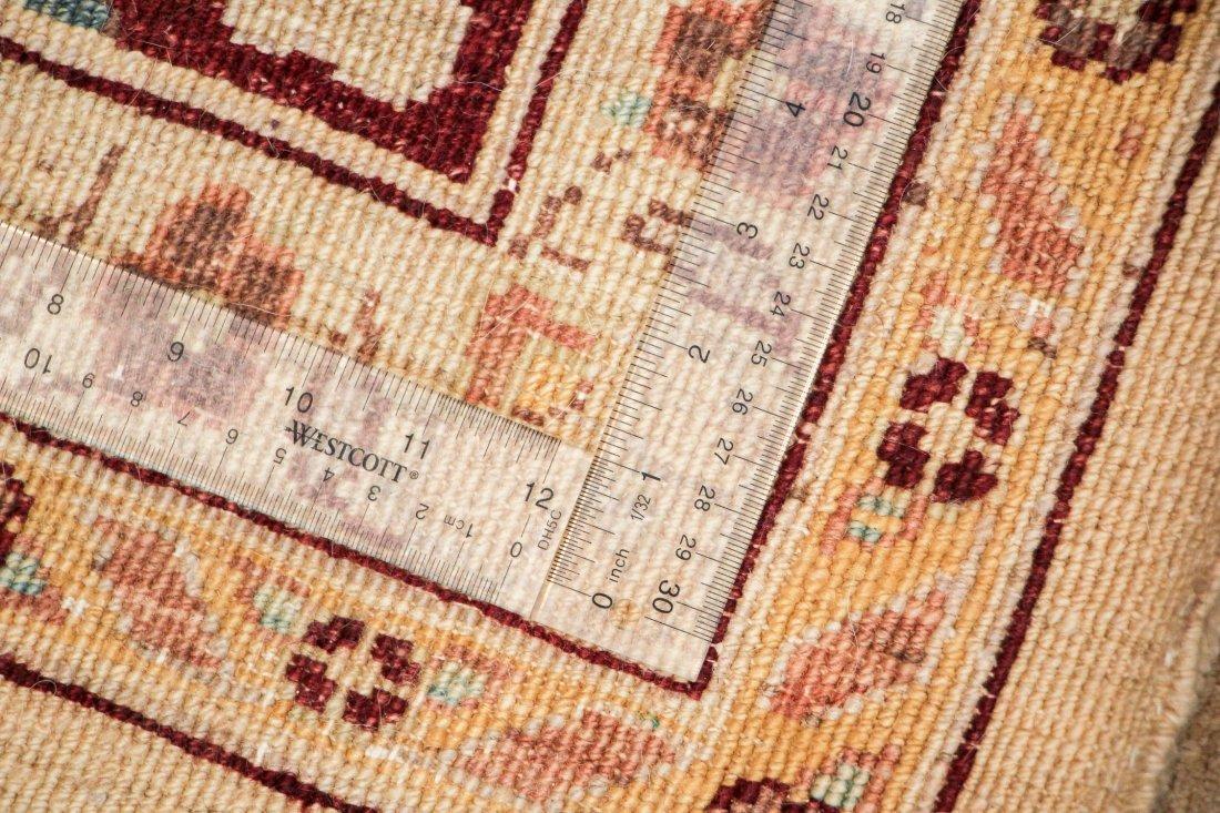 Vintage Afghan Chobi Rug: 9'4'' x 12'3' - 6