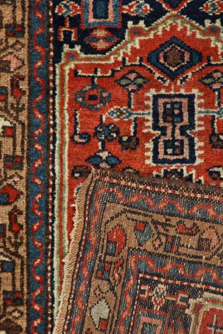 2 Small Antique West Persian Rugs - 3