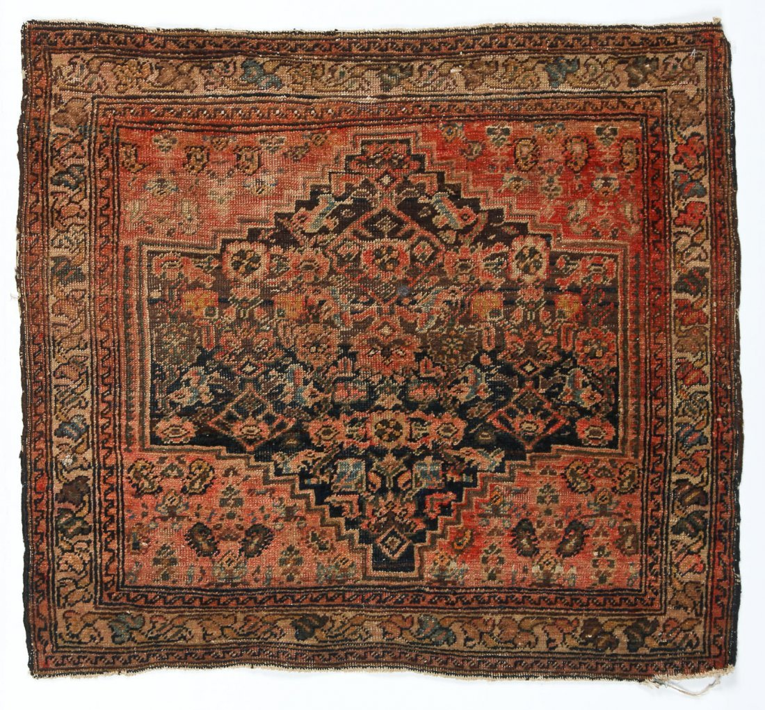 2 Small Antique West Persian Rugs - 5