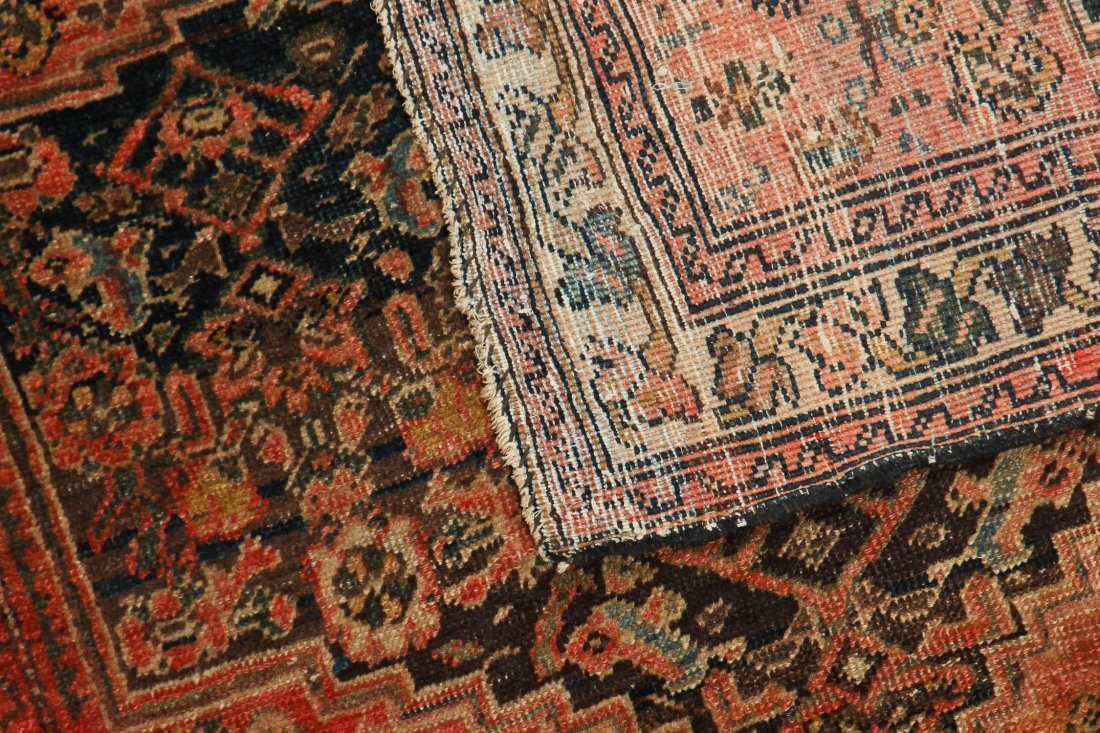 2 Small Antique West Persian Rugs - 6