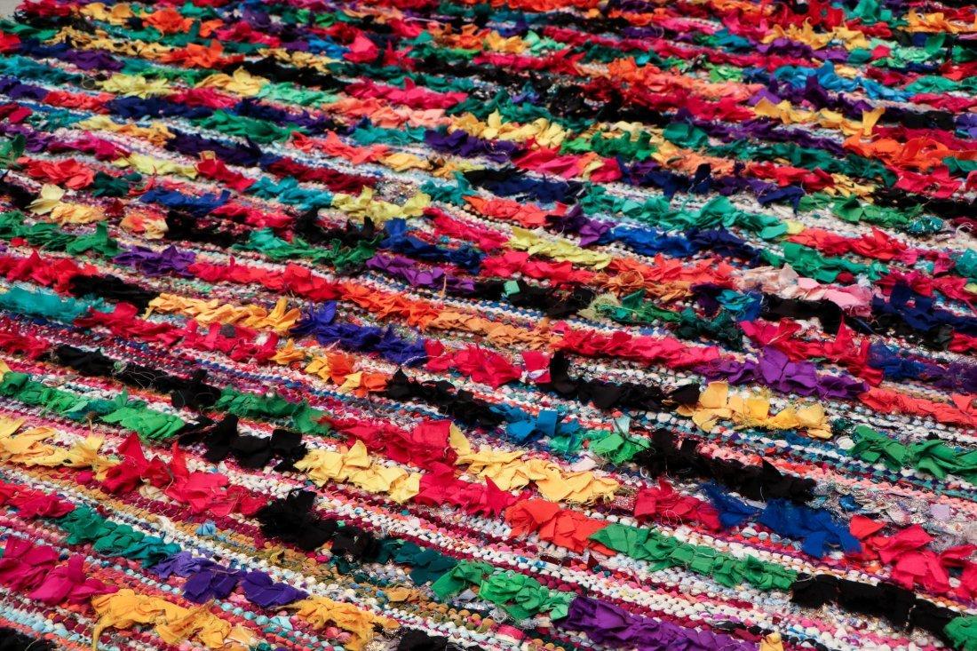 """Vintage Moroccan Rug: 5'5"""" x 8'10"""" (166 x 270 cm) - 3"""